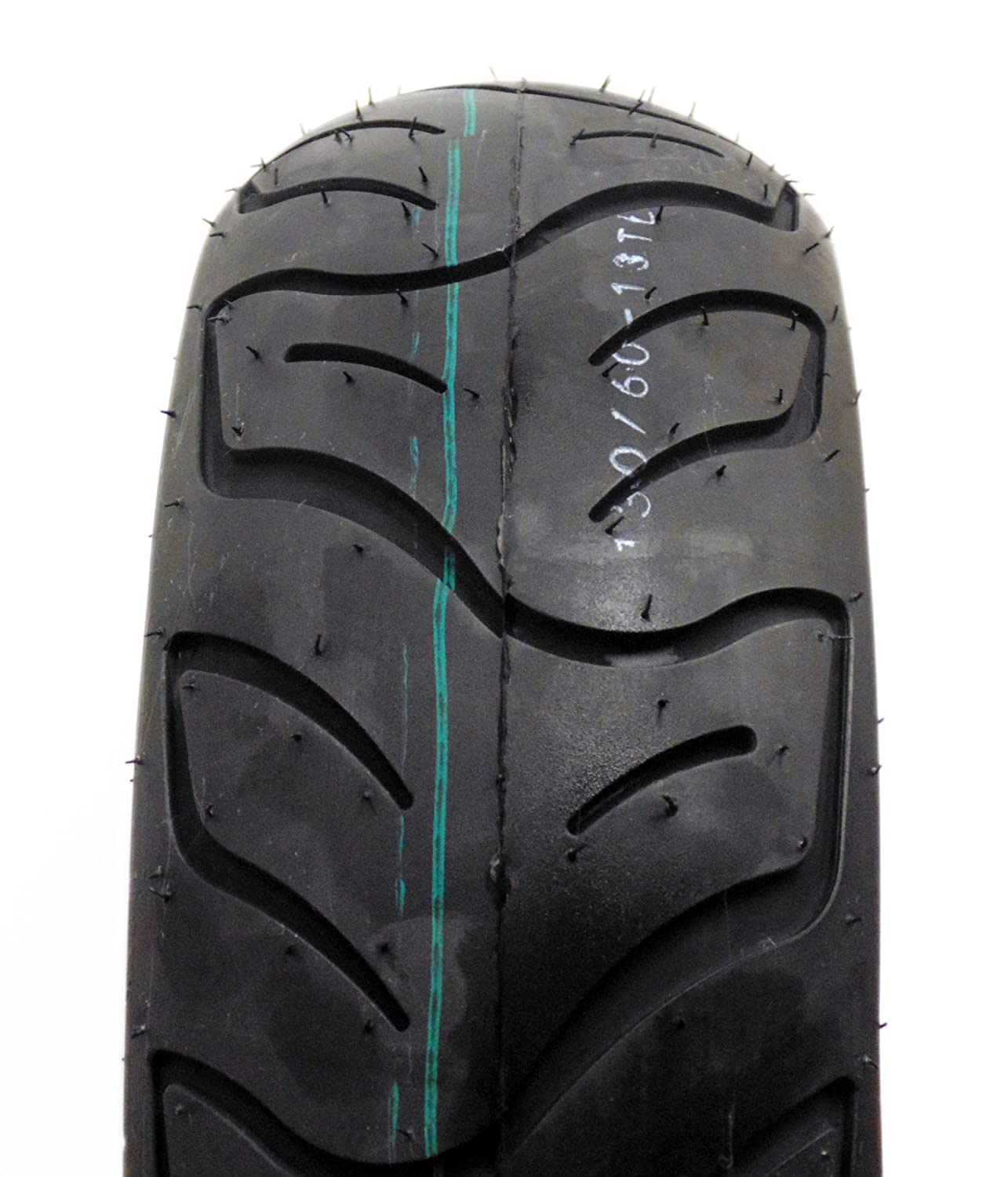 Tire Size 130/60-13 Motorcycle Scooter Tubeless DOT Approved zeus open face vintage motorcycle helmet retro 3 4 casco moto chopper scooter capacete dot 381c motorbike helmets