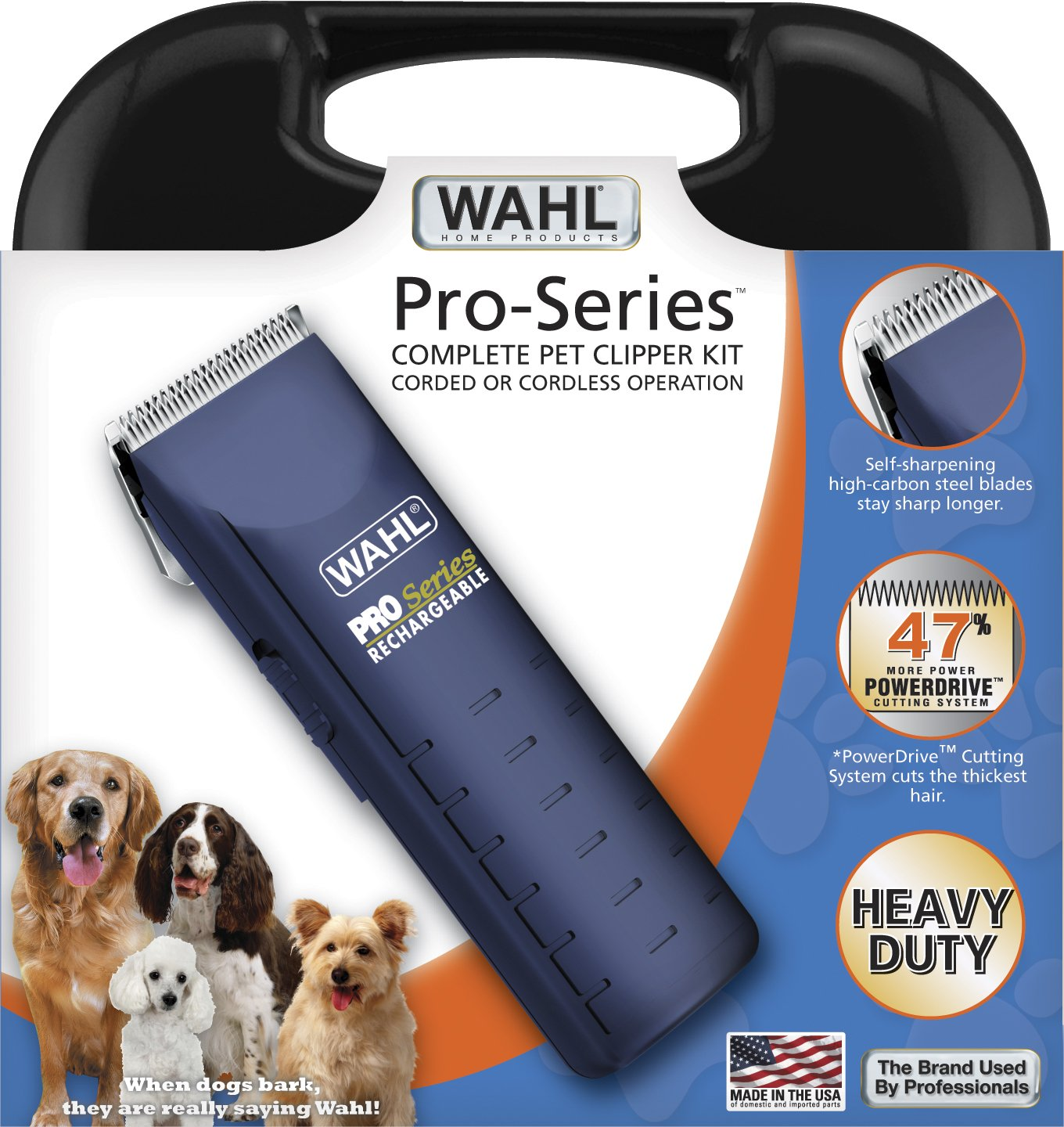 Wahl 9590 dog clipper review