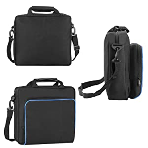 PS4 Bag, Hard case for PSP PS4 Slim,Store Sony Playstation, Gaming Accessories Console Carrying Travel Case by Win-Digital (Color: PS4)
