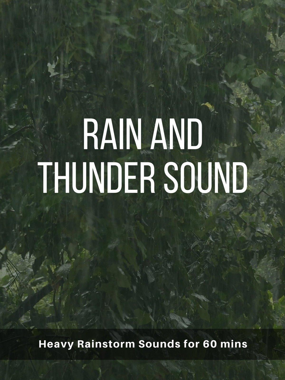 Rain and Thunder Sound