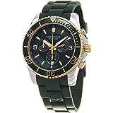 Victorinox Swiss Army Men's Victorinox 241694 Green Silicone Swiss Quartz Watch