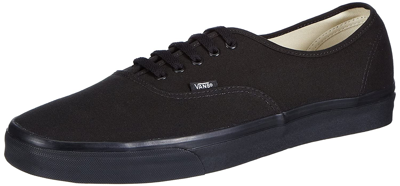 Vans U AUTHENTIC BLACK/BLACK Unisex-Erwachsene