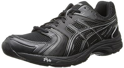Asics Men's Gel-Tech Walker Neo 4 Walking Shoe,Black/Black/Silver,14 M US