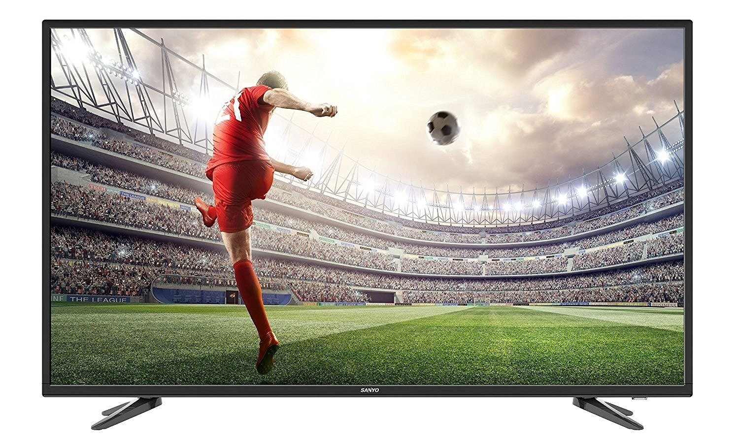 Tv Fest!! Win  Prizes Worth Of Rs.5,000 By Amazon | Sanyo 124 cm (49 inches) XT-49S7100F Full HD LED IPS TV (Black) @ Rs.33,490