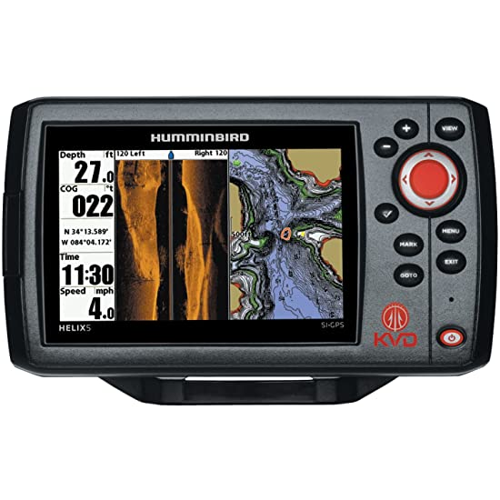 Humminbird 409640-1 Helix 5 SI Fish Finder with Side Imaging and GPS Review