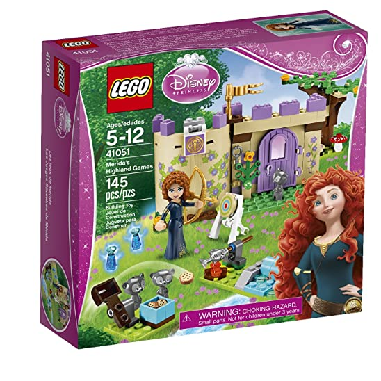 Princess Merida's Highland Games LEGO Set