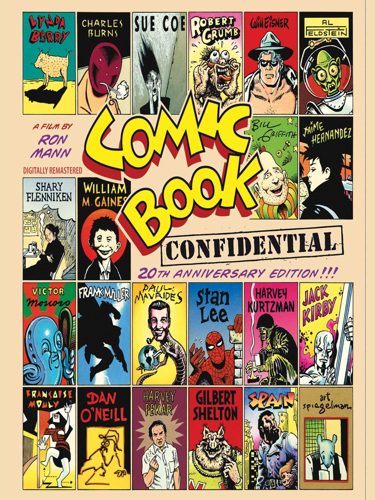 Comic Book Confidential (20th Anniversary Edition)