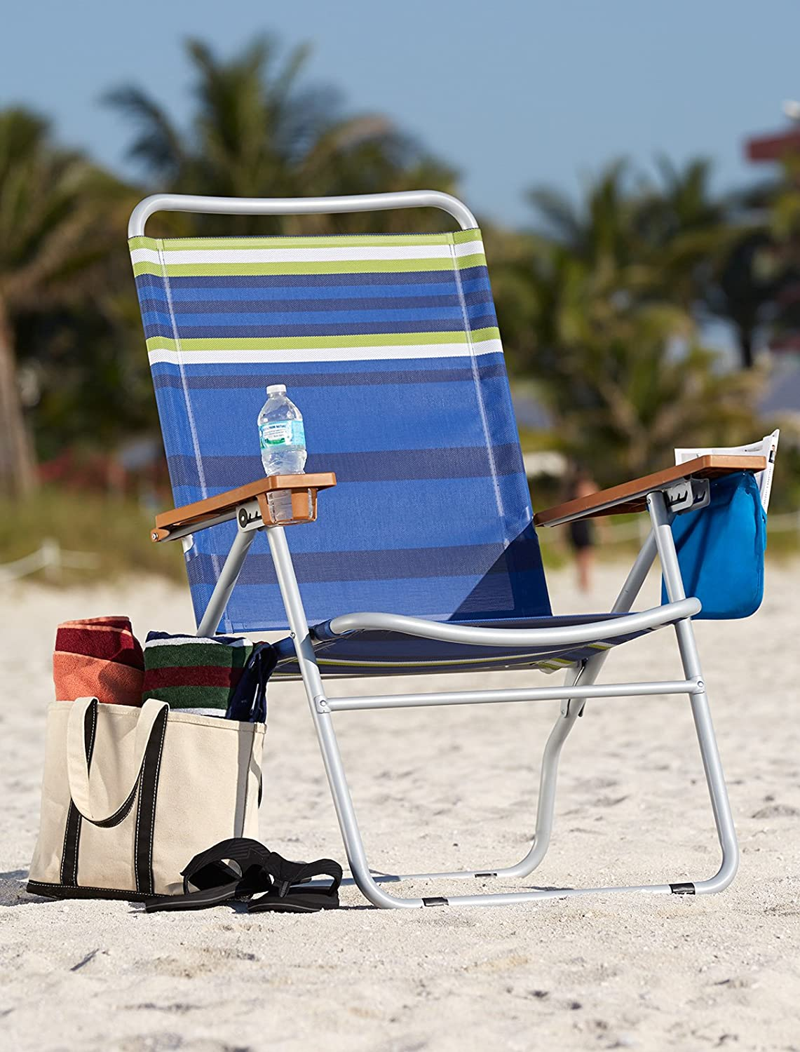 Extra Wide 650 Lb Capacity Beach Chair