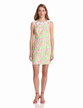Lilly Pulitzer Women's Lacina Dress, Resort White Nibbles, 00
