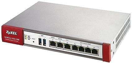 ZyXEL ZyWALL USG-200 Dispositif de sécurité EN, Fast EN, Gigabit EN