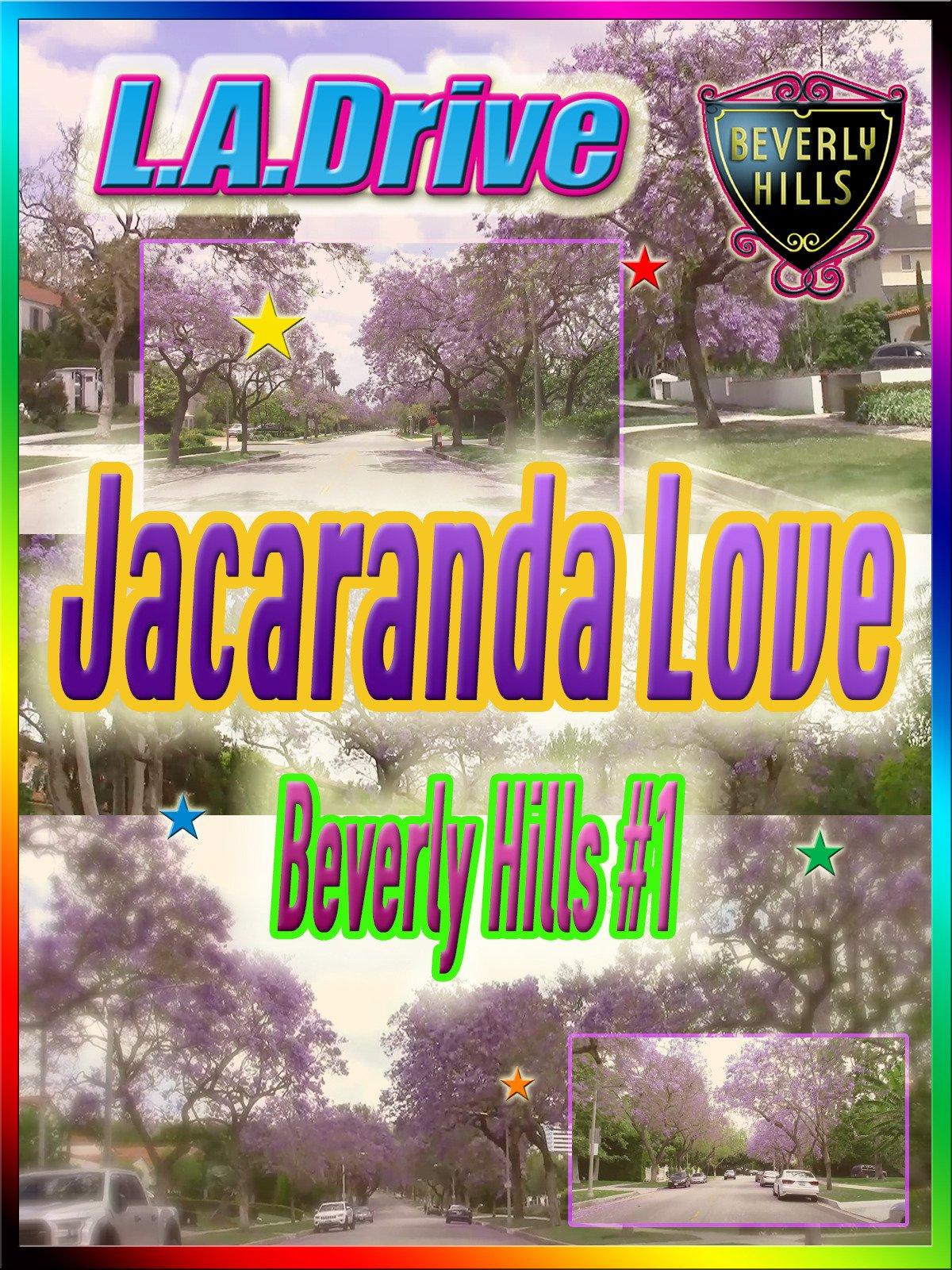 Clip: L.A. Drive Jacaranda Love Beverly Hills #1