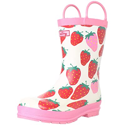 Hatley Kids Summer Strawberries Wellingtons Boot