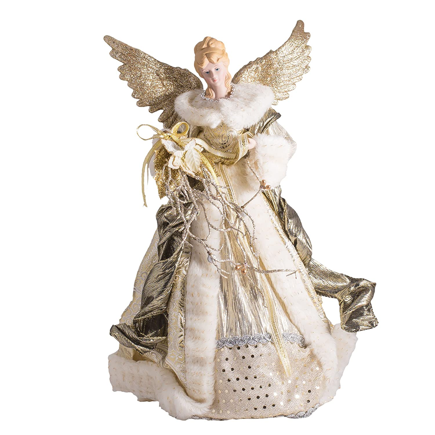 Angel UnLit Tree Toppers | Christmas Wikii