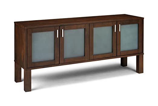 Julian Bowen Santiago Sideboard, Dark Wood