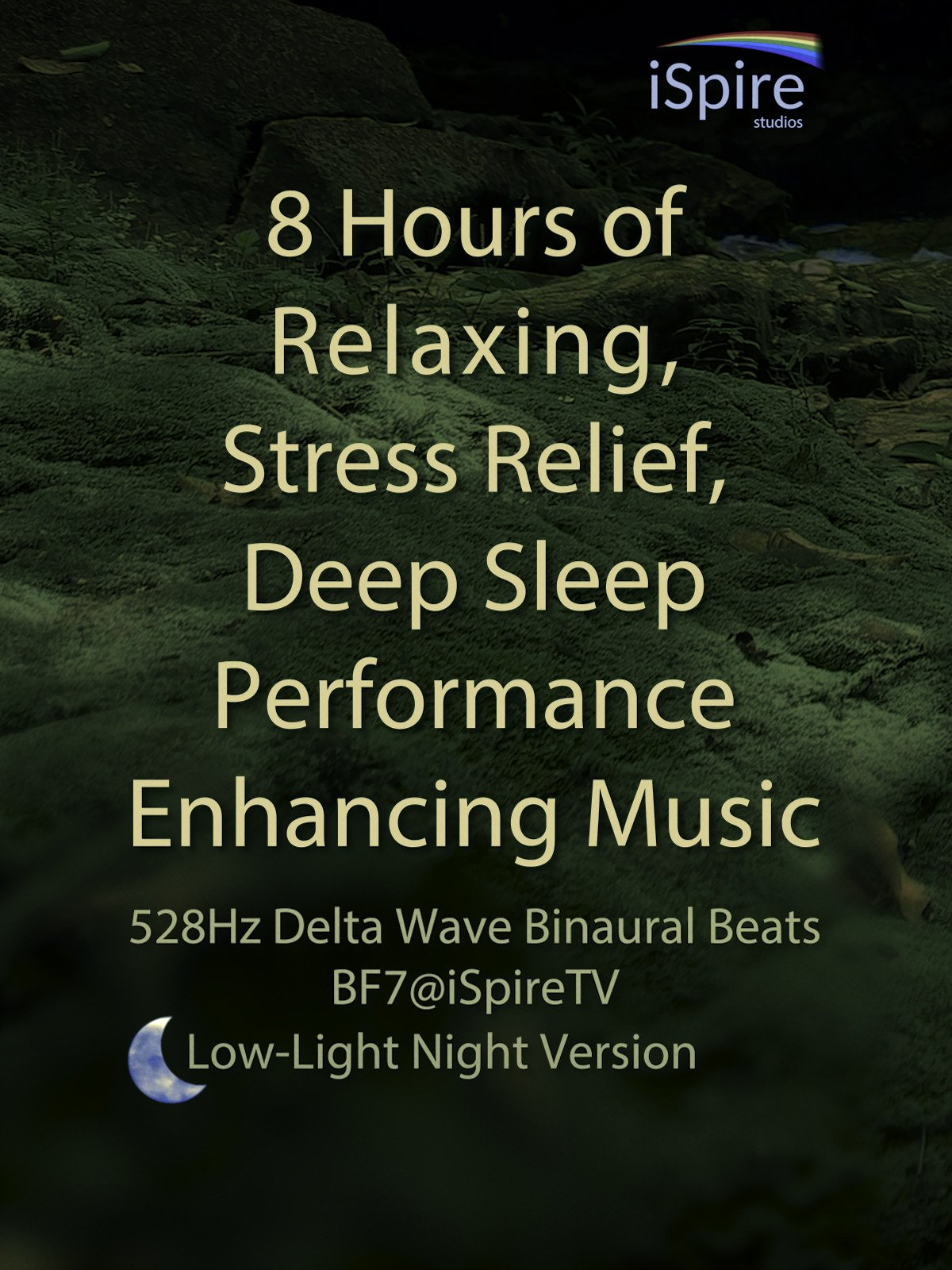 8 Hours of Relaxing, Stress Relief, Deep Sleep Performance Enhancing Music (Low-Light Night Version)