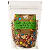 Amazon Brand - Happy Belly Amazon Brand Nuts, Chocolate & Dried Fruit Trail Mix, 16 ounce