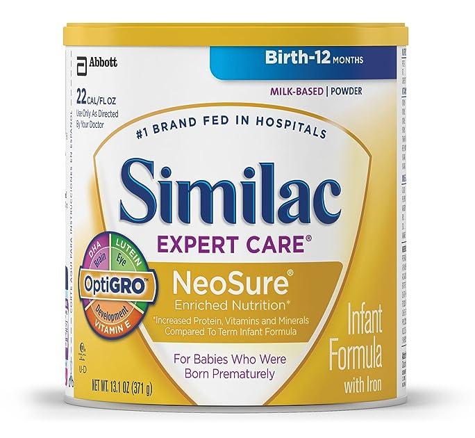 Similac NeoSure Infant Formula With Iron, Powder, 13.1
