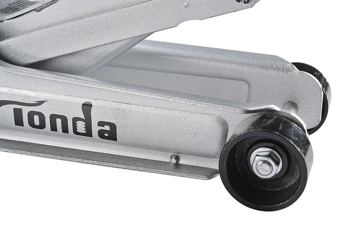 TONDA 2 Ton Low Profile Heavy Duty Garage Floor Jack, Rapid Pump Quick Lift