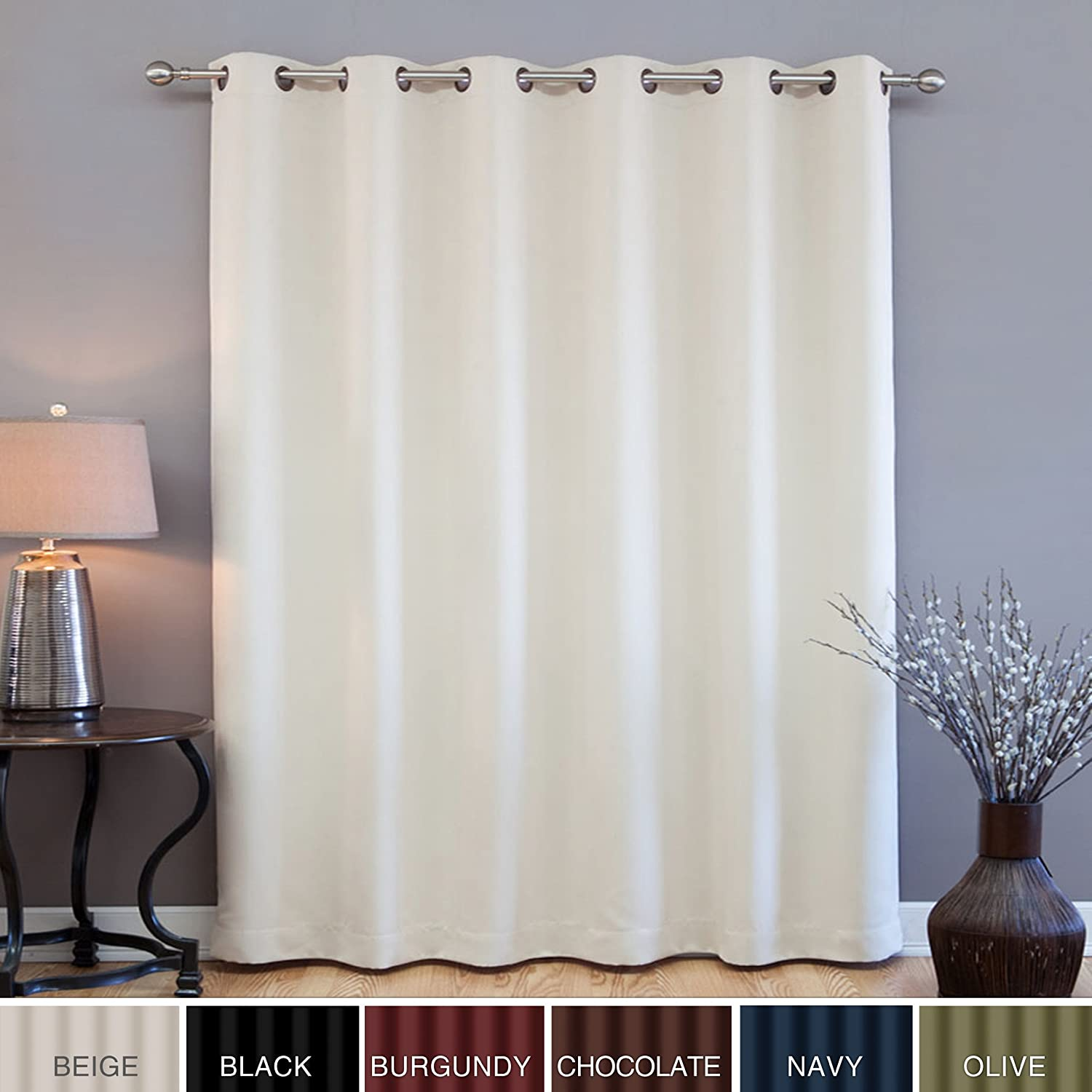 Sliding Glass Door Blackout Curtain Panels 1500 x 1500