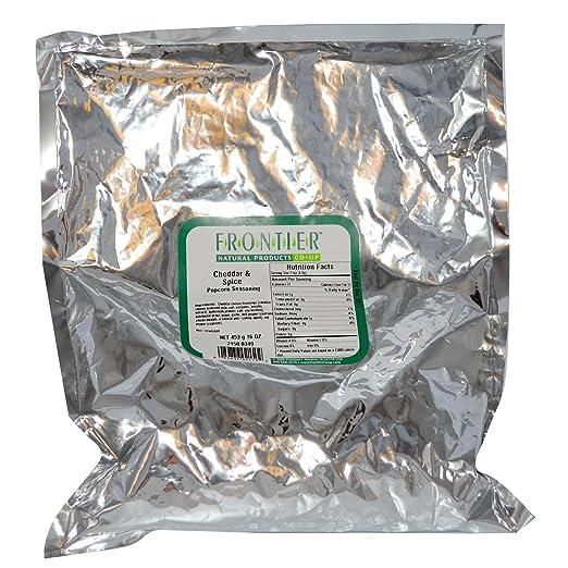 Отзывы Frontier Bulk Popcorn Seasoning - Cheddar and Spice 1 lb.