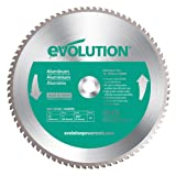 Evolution Power Tools 14BLADEAL Aluminum Cutting Saw Blade, 14-Inch x 80-Tooth (Color: Green, Tamaño: 14 Inch)