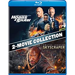 Fast & Furious Presents: Hobbs & Shaw / Skyscraper Double Feature [Blu-ray]