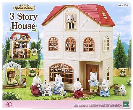 Sylvanian Families - 2738 - Poupée - Coffret Maison Aux 3 Histoires