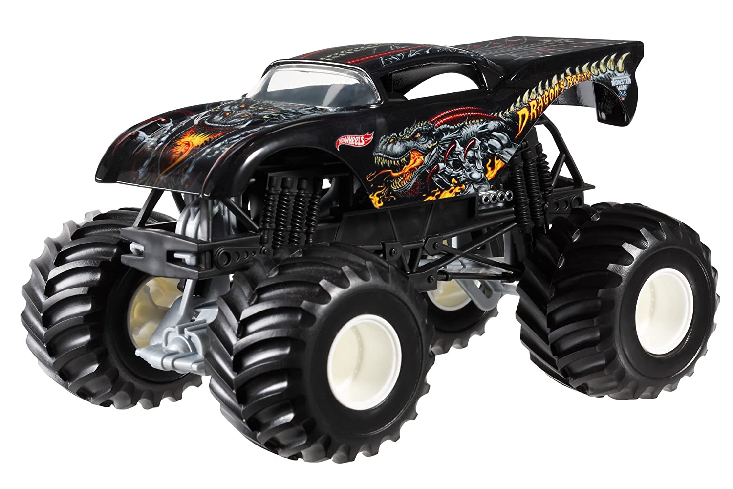 Mattel Hot Wheels Monster Jam Dragon's Breath Die-Cast Vehicle, 1:24 Scale at Sears.com