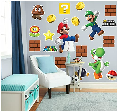 Super Mario Wall Decals Tktb