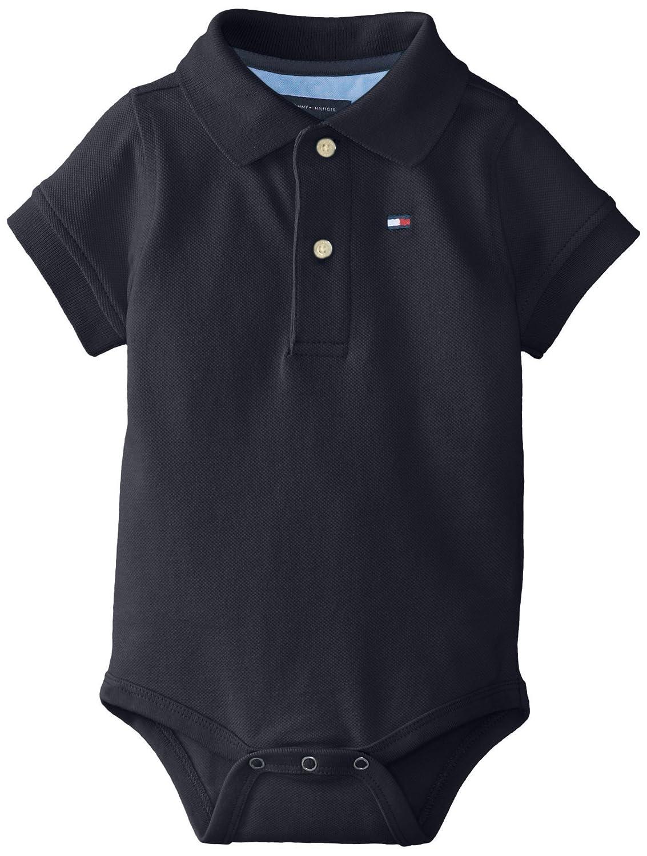 Tommy Hilfiger Baby-Boys Infant Short Sleeve Ivy Bodysuit