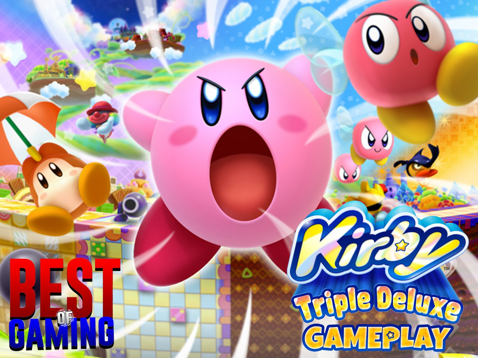 Clip: Kirby Triple Deluxe Gameplay - Season 1