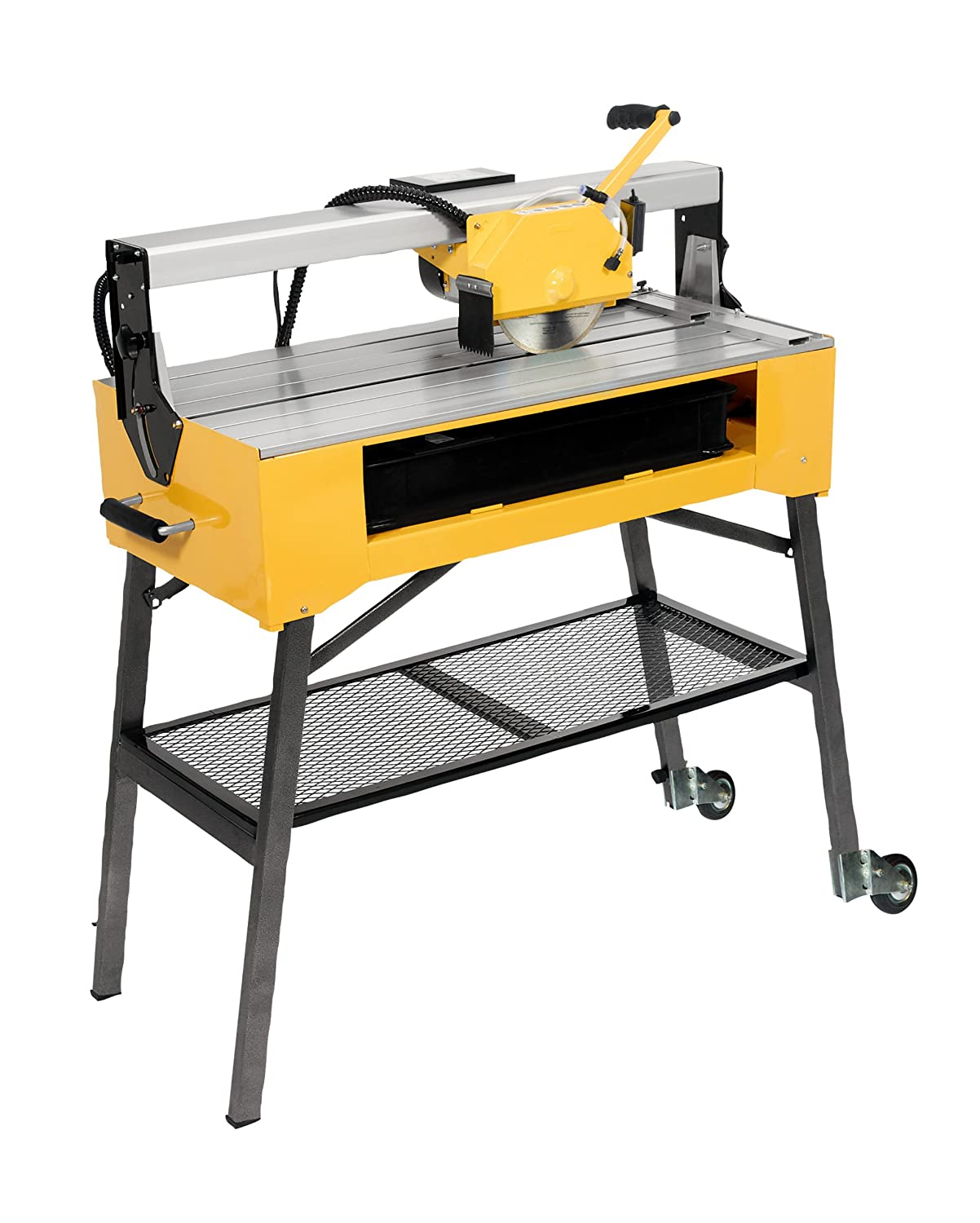QEP 83200 24 Inch Bridge Tile Saw with Water Pump and Stand