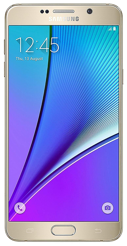 Samsung N920 Unlocked Galaxy Note 5, GSM 32GB Gold Factory - International Version (Gold)
