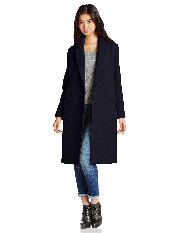 Amazon.co.jp: (マーキュリーデュオ)MERCURYDUO 【LUX】 ロングチェスターCT 001430000101 58 ネイビー F: 服&ファッション小物通販