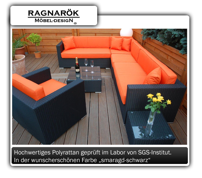polyrattan lounge deutsche marke eignene produktion 7 jahre garantie garten m bel incl glas. Black Bedroom Furniture Sets. Home Design Ideas