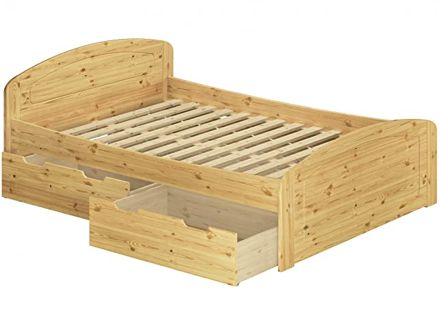 Funzione letto 3letto a DOGHE 160X 200Senior letto in legno massiccio di pino 60.50–16