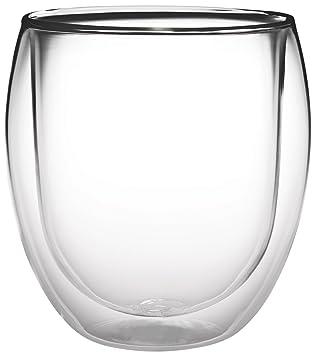elino tasse de de th en verre double paroi paroi 400ml rondini xxl thermique. Black Bedroom Furniture Sets. Home Design Ideas