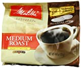 Melitta Coffee Pods for Senseo and Hamilton Beach Pod Brewers, Medium Roast 4.44 oz bags (Pack of 6)