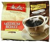 Melitta Coffee Pods for Senseo and Hamilton Beach Pod Brewers, Medium Roast 4.44 oz bags (Pack of 6)