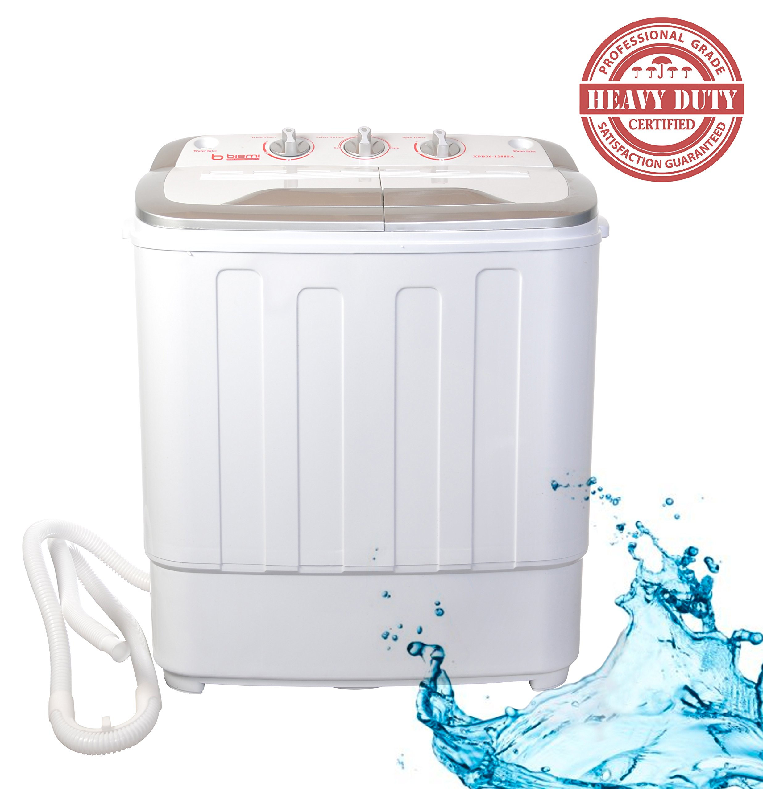 Miniature Clothes Dryer ~ Bismi professional grade compact portable washing machine