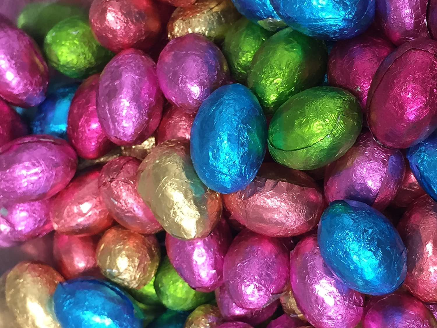 Foil Easter Decorations Chocolate Foil Easter Eggs