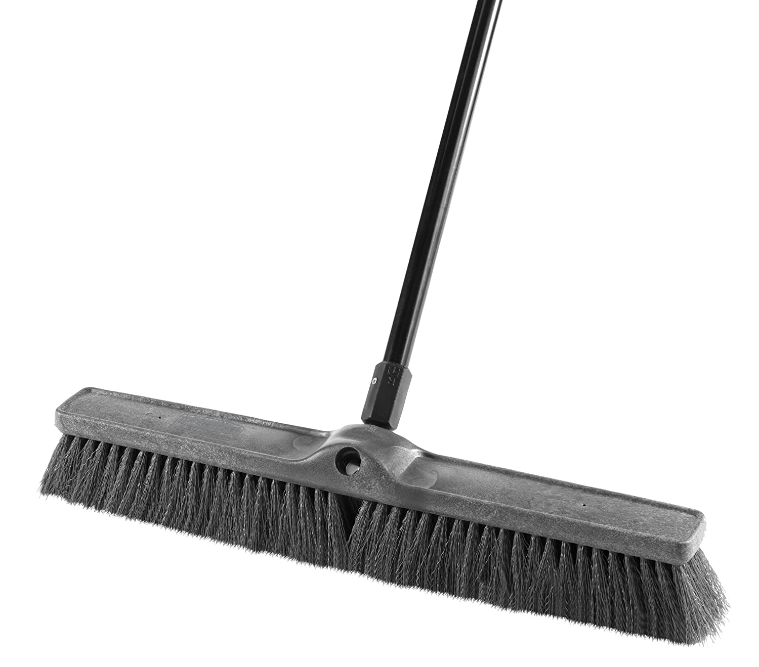 Rubbermaid Commercial 1861211 Executive Series 24-inch Push Broom, Multi-Surface Medium-Duty Sweep