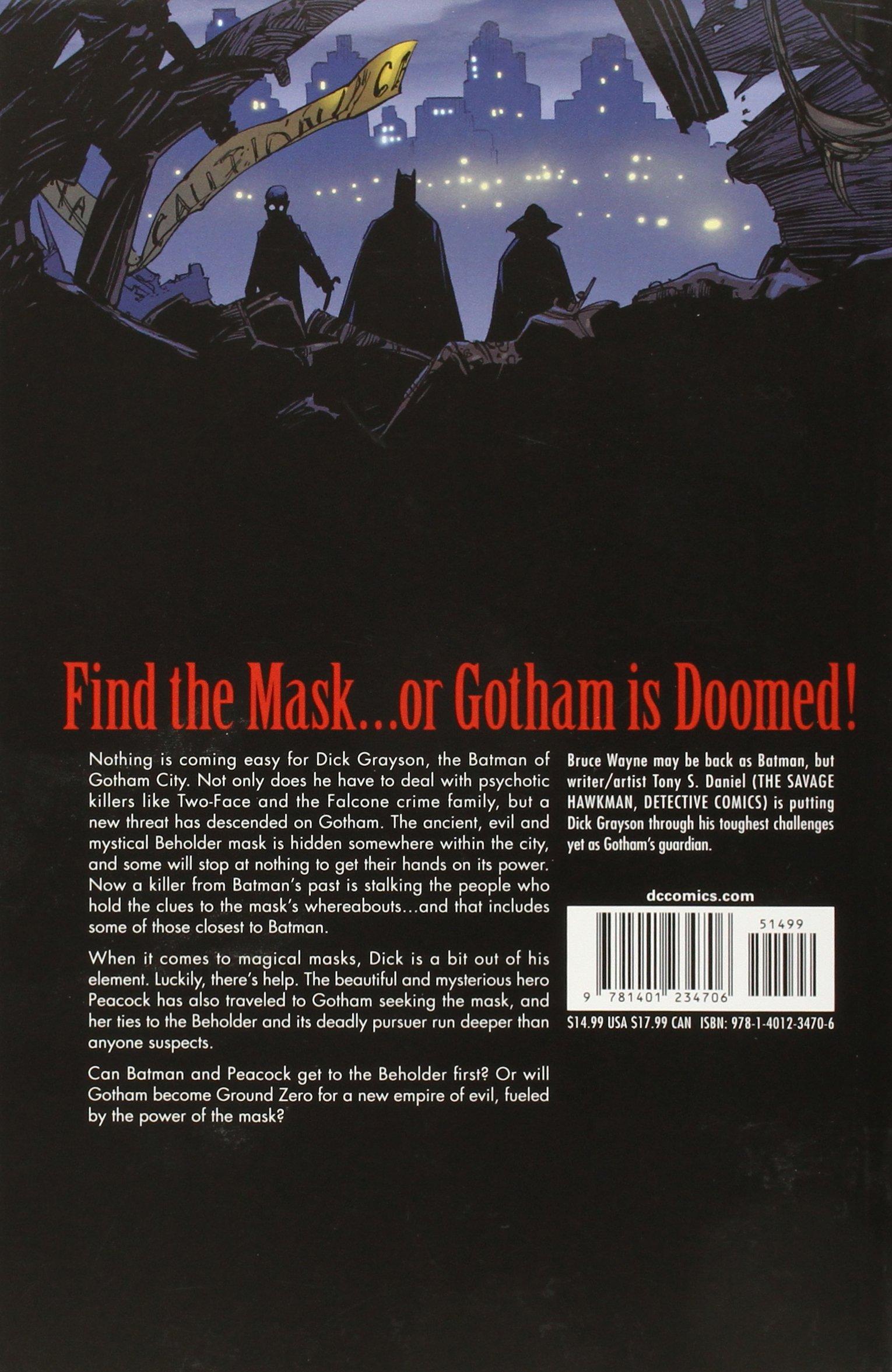 Batman Eye of The Beholder Amazon.com Batman Eye of The
