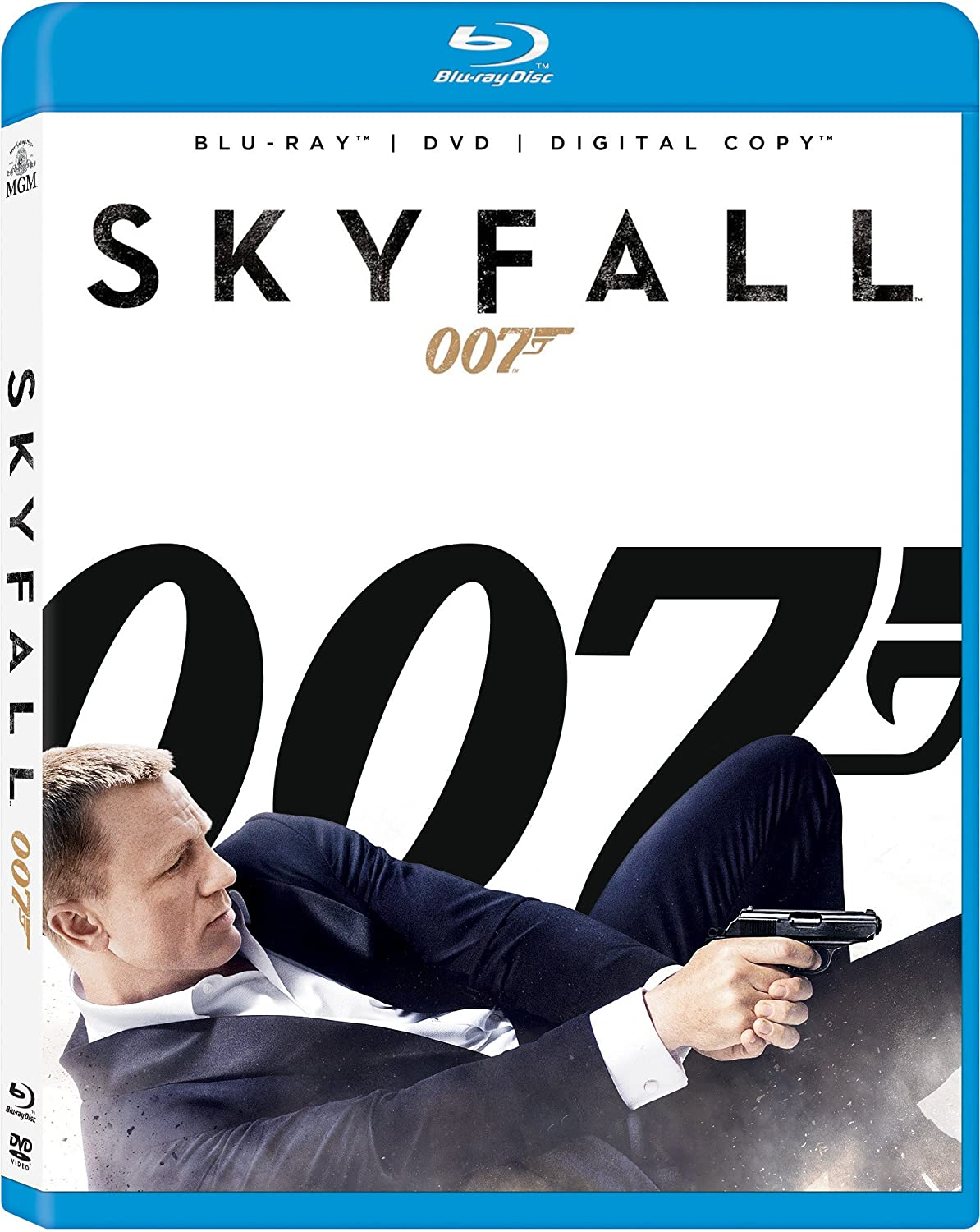 Skyfall (Blu-ray/ DVD + Digital Copy) $12
