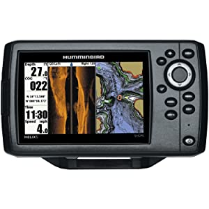 Humminbird 409640-1 HELIX 5 SI Fish Finder with Side-Imaging and GPS