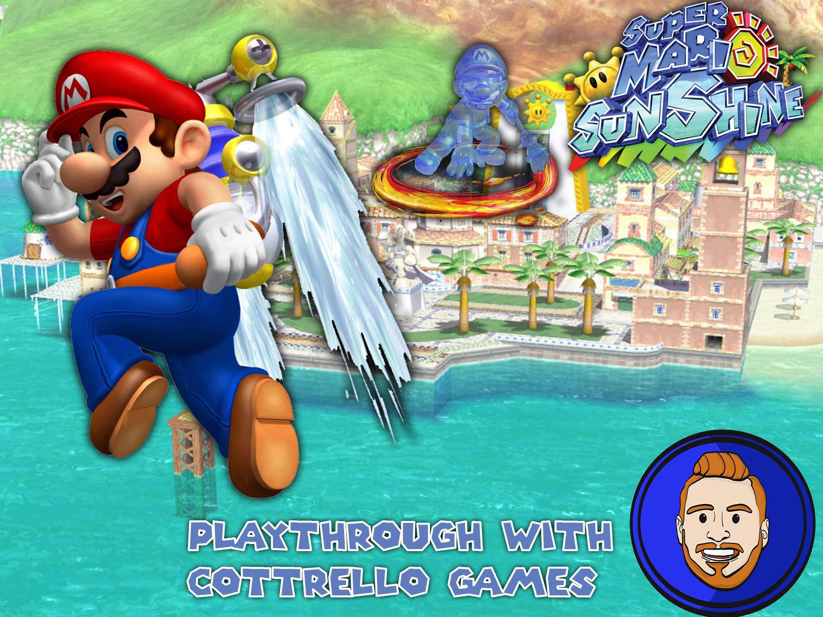 Super Mario Sunshine Playthrough with Cottrello Games on Amazon Prime Instant Video UK