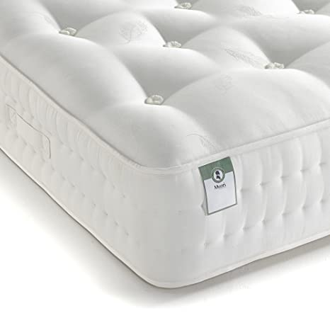 Myers Natural Wool 1600 Mattress - King, White