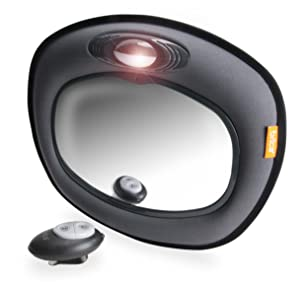 BRICA Day & Night Light Musical Auto Mirror for in Car Safety