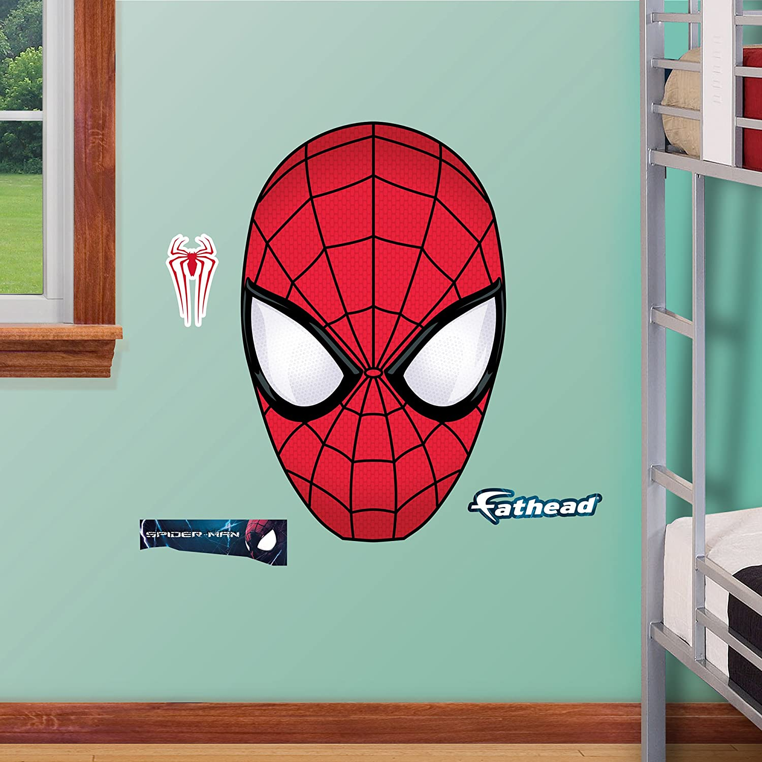 Fathead The Amazing Spider-Man 2 Mask Junior Wall Decal