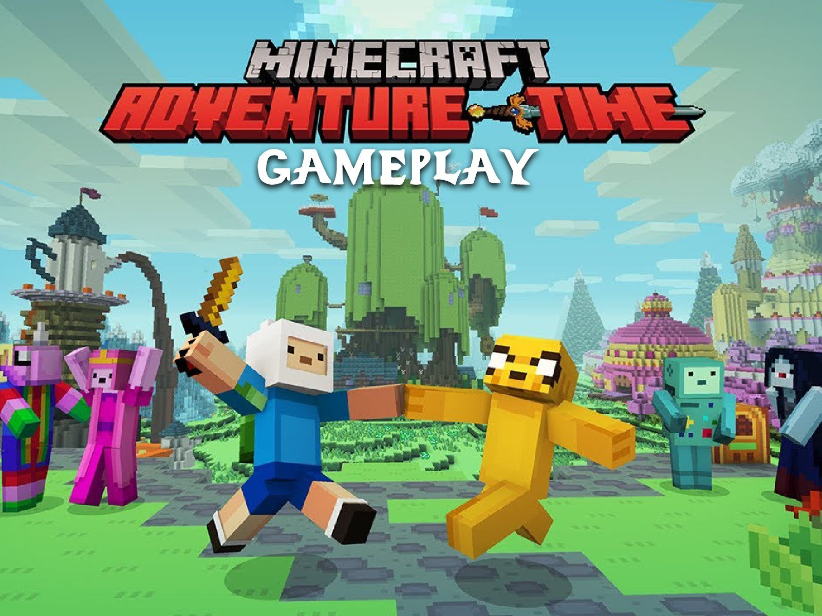 Clip: Minecraft Adventure Time Gameplay